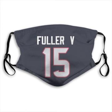 Houston Texans Will Fuller V Navy Blue Jersey Name & Number Face Mask