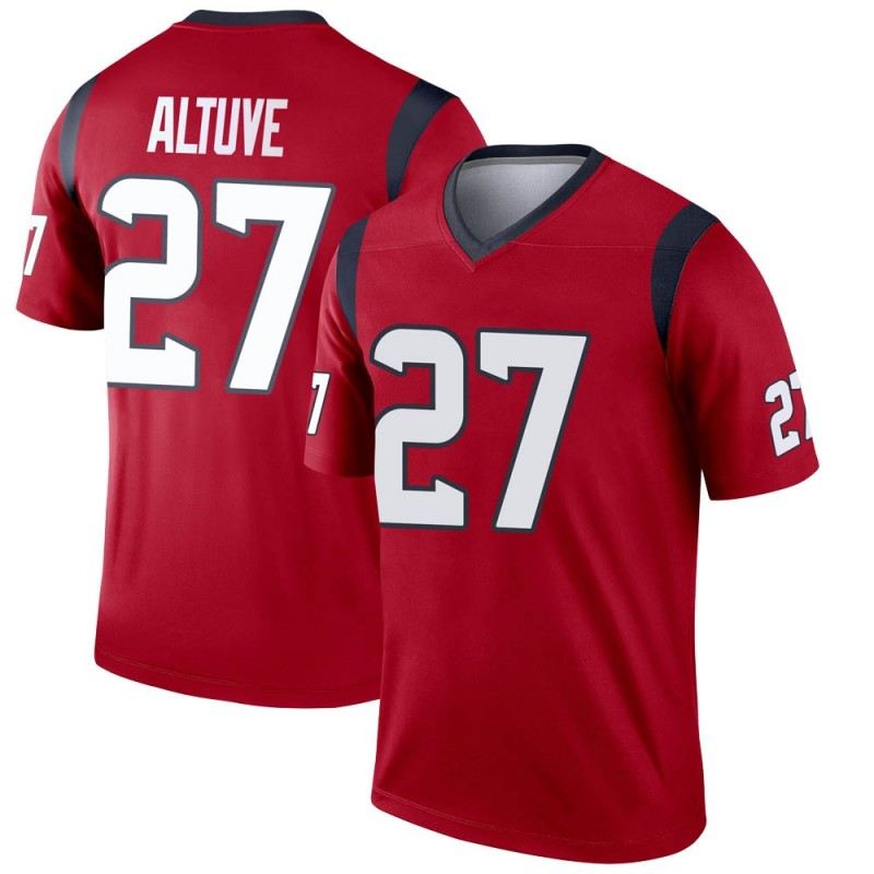 sneakers for cheap 37962 38b70 Men's Nike Houston Texans Jose Altuve Red Jersey - Legend