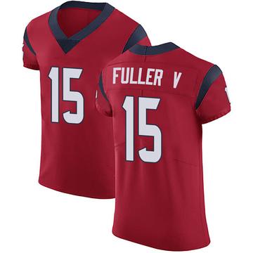 Men's Houston Texans Will Fuller V Red Alternate Vapor Untouchable Jersey - Elite