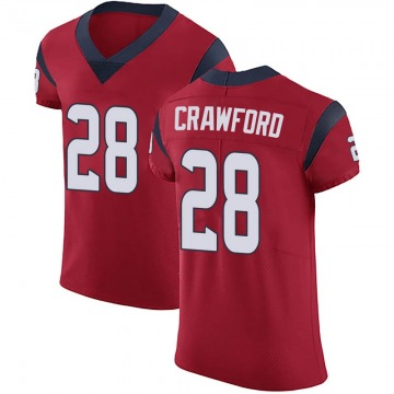 best sneakers 2a4fe 526a4 Xavier Crawford Red Jersey - Texans Store