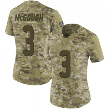 Women's Nike Houston Texans Alex McGough Camo 2018 Salute to Service Jersey - Limited