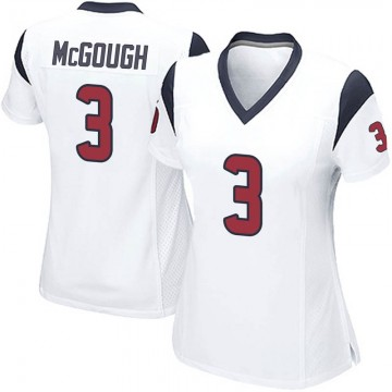 Women's Nike Houston Texans Alex McGough White Jersey - Game