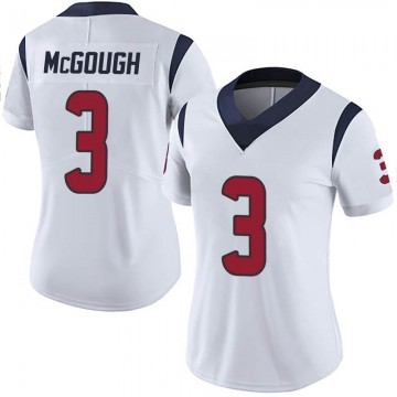 Women's Nike Houston Texans Alex McGough White Vapor Untouchable Jersey - Limited