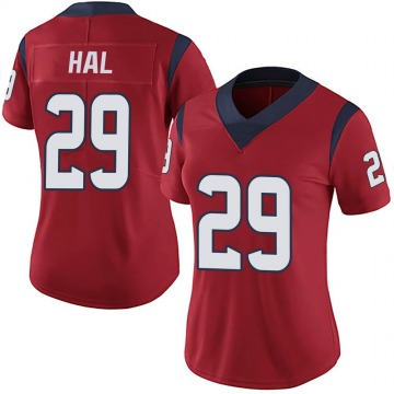 Women's Nike Houston Texans Andre Hal Red Alternate Vapor Untouchable Jersey - Limited