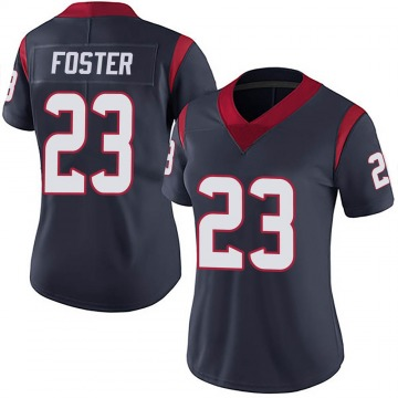 Women's Nike Houston Texans Arian Foster Navy Blue Team Color Vapor Untouchable Jersey - Limited