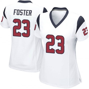 Women's Nike Houston Texans Arian Foster White Jersey - Game
