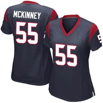 Women's Nike Houston Texans Benardrick McKinney Navy Blue Team Color Jersey - Game