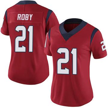 Women's Nike Houston Texans Bradley Roby Red Alternate Vapor Untouchable Jersey - Limited