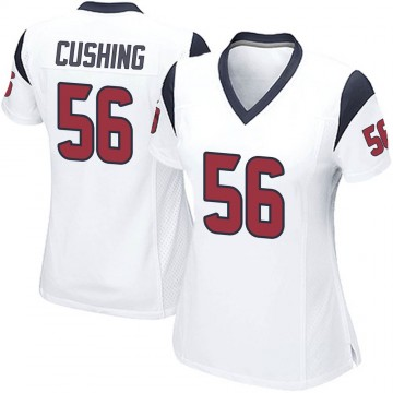 Women's Nike Houston Texans Brian Cushing White Jersey - Game