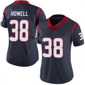 Women's Nike Houston Texans Buddy Howell Navy Blue Team Color Vapor Untouchable Jersey - Limited