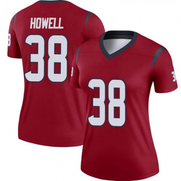 Women's Nike Houston Texans Buddy Howell Red Jersey - Legend