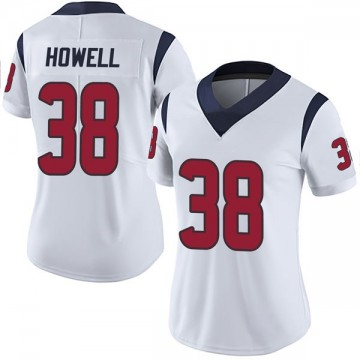 Women's Nike Houston Texans Buddy Howell White Vapor Untouchable Jersey - Limited