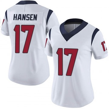 Women's Nike Houston Texans Chad Hansen White Vapor Untouchable Jersey - Limited