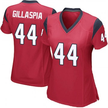 Women's Nike Houston Texans Cullen Gillaspia Red Alternate Jersey - Game