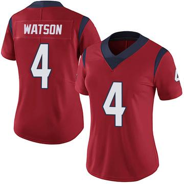 Women's Nike Houston Texans Deshaun Watson Red Alternate Vapor Untouchable Jersey - Limited