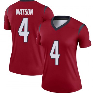 Women's Nike Houston Texans Deshaun Watson Red Jersey - Legend