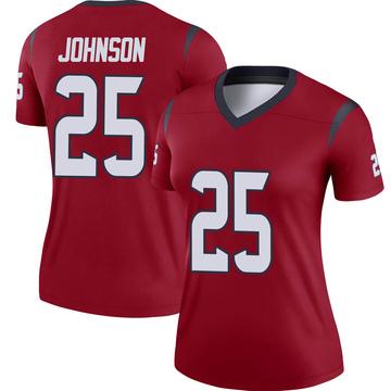 Women's Nike Houston Texans Duke Johnson Jr. Red Jersey - Legend