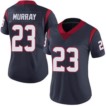 Women's Nike Houston Texans Eric Murray Navy 100th Vapor Jersey - Limited