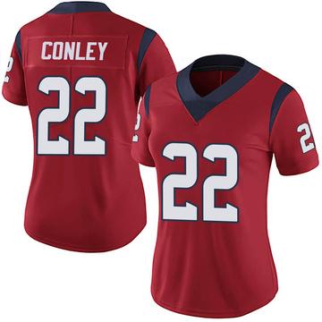 Women's Nike Houston Texans Gareon Conley Red Alternate Vapor Untouchable Jersey - Limited