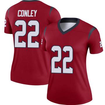 Women's Nike Houston Texans Gareon Conley Red Jersey - Legend