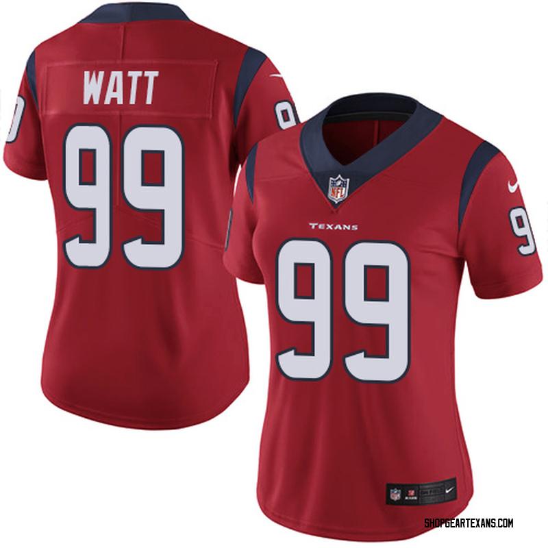 09c69e0f Women's Nike Houston Texans J.J. Watt Red Alternate Jersey - Limited