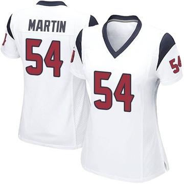 Women's Nike Houston Texans Jacob Martin White Jersey - Game