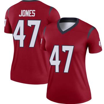 Women's Nike Houston Texans Jamir Jones Red Jersey - Legend
