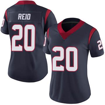 Women's Nike Houston Texans Justin Reid Navy 100th Vapor Jersey - Limited