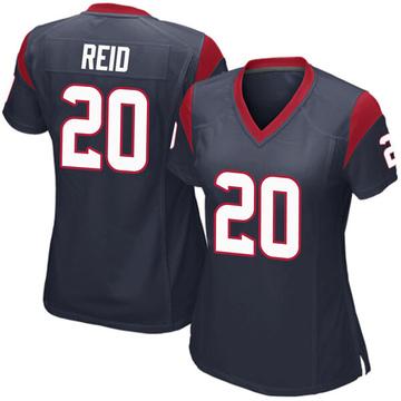 Women's Nike Houston Texans Justin Reid Navy Blue Team Color Jersey - Game