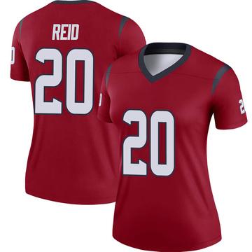 Women's Nike Houston Texans Justin Reid Red Jersey - Legend