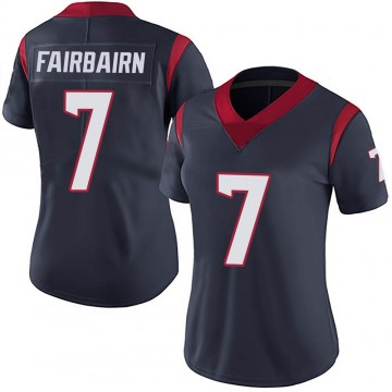 Women's Nike Houston Texans Ka'imi Fairbairn Navy 100th Vapor Jersey - Limited