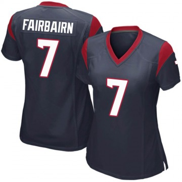 Women's Nike Houston Texans Ka'imi Fairbairn Navy Blue Team Color Jersey - Game