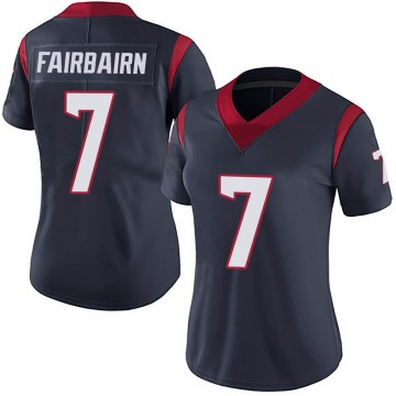 Women's Nike Houston Texans Ka'imi Fairbairn Navy Blue Team Color Vapor Untouchable Jersey - Limited