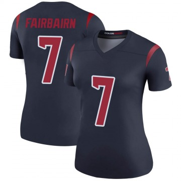 Women's Nike Houston Texans Ka'imi Fairbairn Navy Color Rush Jersey - Legend