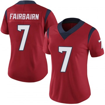 Women's Nike Houston Texans Ka'imi Fairbairn Red Alternate Vapor Untouchable Jersey - Limited