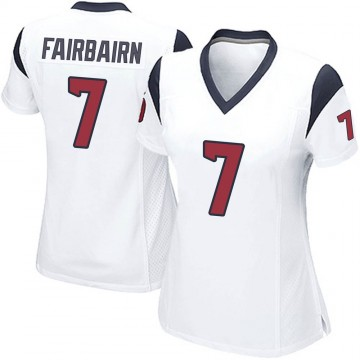 Women's Nike Houston Texans Ka'imi Fairbairn White Jersey - Game