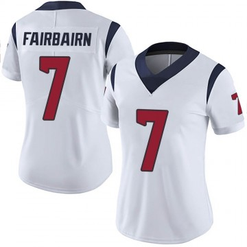 Women's Nike Houston Texans Ka'imi Fairbairn White Vapor Untouchable Jersey - Limited