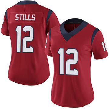 Women's Nike Houston Texans Kenny Stills Red Alternate Vapor Untouchable Jersey - Limited