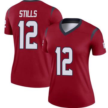 Women's Nike Houston Texans Kenny Stills Red Jersey - Legend