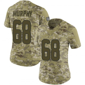 Women's Nike Houston Texans Kyle Murphy Camo 2018 Salute to Service Jersey - Limited
