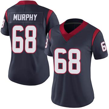 Women's Nike Houston Texans Kyle Murphy Navy 100th Vapor Jersey - Limited