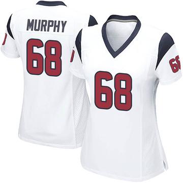 Women's Nike Houston Texans Kyle Murphy White Jersey - Game