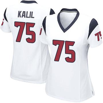 Women's Nike Houston Texans Matt Kalil White Jersey - Game