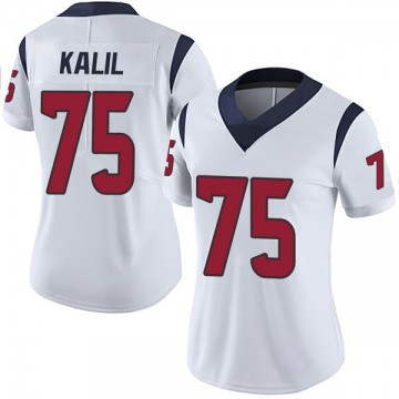 Women's Nike Houston Texans Matt Kalil White Vapor Untouchable Jersey - Limited