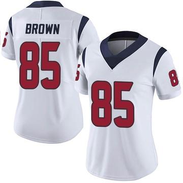 Women's Nike Houston Texans Pharaoh Brown White Vapor Untouchable Jersey - Limited