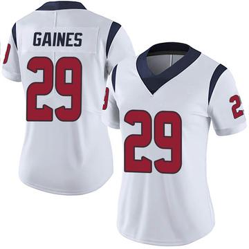 Women's Nike Houston Texans Phillip Gaines White Vapor Untouchable Jersey - Limited