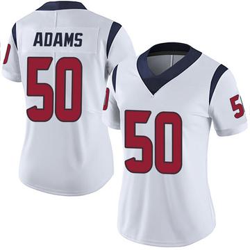 Women's Nike Houston Texans Tyrell Adams White Vapor Untouchable Jersey - Limited