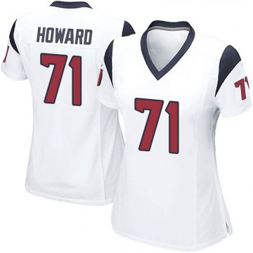 Women's Nike Houston Texans Tytus Howard White Jersey - Game