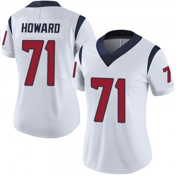 Women's Nike Houston Texans Tytus Howard White Vapor Untouchable Jersey - Limited