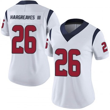 Women's Nike Houston Texans Vernon Hargreaves III White Vapor Untouchable Jersey - Limited